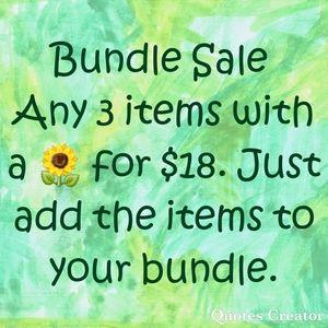 Closetwide Bundle Sale 🌻3 for $18
